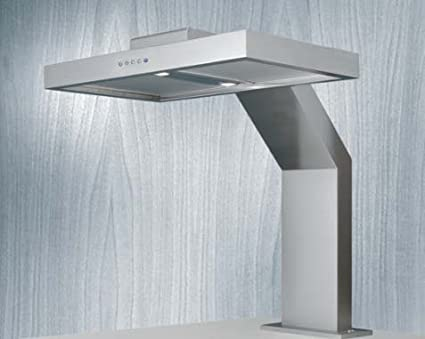 Tischhaube standhaube in edelstahl dunstabzugshaube elektronische