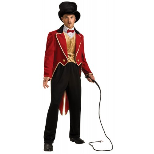 Rubie's Circus Ringmaster, Red, One Size Costume -
