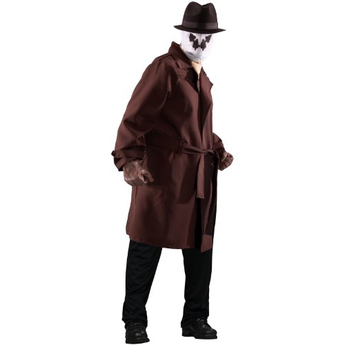 [Rorschach Costume - Plus Size - Chest Size 46-50] (Rorschach Halloween Costumes)