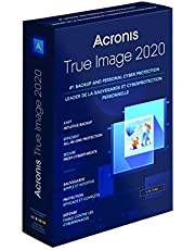 Acronis True Image 2020 - 5 Computers (PC,Mac,Android,iOS. No Disc. Key Card inside Box)