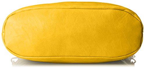 MG Collection Ece Tri-Tone Hobo Handbag