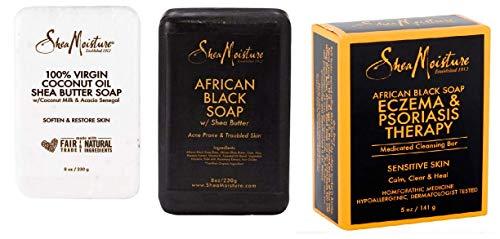 Shea Butter Soap Trio (3 items)