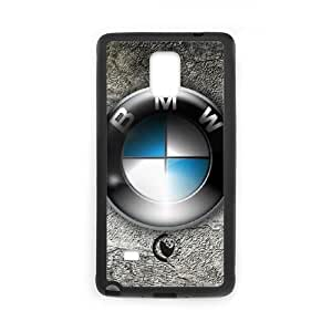 Samsung Galaxy Note 4 N9108 Cell Phone Case Black BMW Plastic Durable Cover Cases swxc5059733