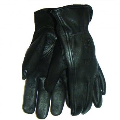 Tillman 866 Premium Black Top Grain Deerskin Drivers Gloves, Unlined, Medium