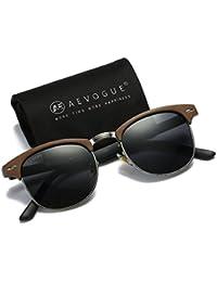 Polarized Sunglasses Semi-Rimless Frame Brand Designer Classic AE0369