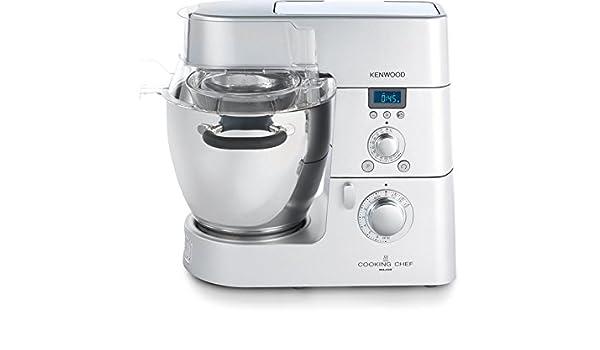 Kenwood Cooking Chef KM094 1500W 6.7L Plata - Robot de cocina (6,7 L, Plata, Botones, Giratorio, 5500 RPM, 20-140 °C, Acero inoxidable): Amazon.es: Hogar