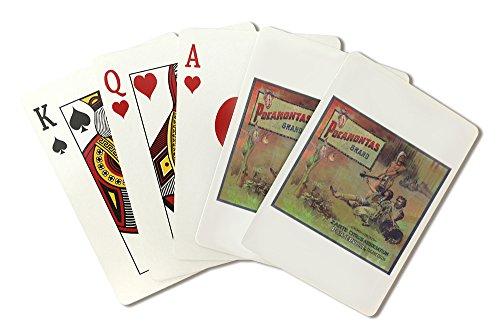 (Pocahontas Orange Label (Playing Card Deck - 52 Card Poker Size with Jokers))