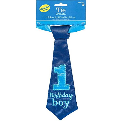 Amscan Little Buddy Boys 1st Birthday Party Necktie Accessor