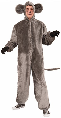 Mascot Adult Costume Mouse (Forum Novelties Mouse Mascot Costume, Gray, Standard)