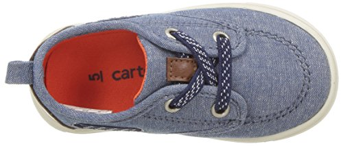 Pictures of Carter's Blaze Boy's Casual Boat Shoe, Navy, 5 M US Toddler 2