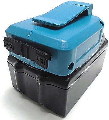 Amazon.com: Makita ADP05 Fuente de alimentación 18 V USB ...