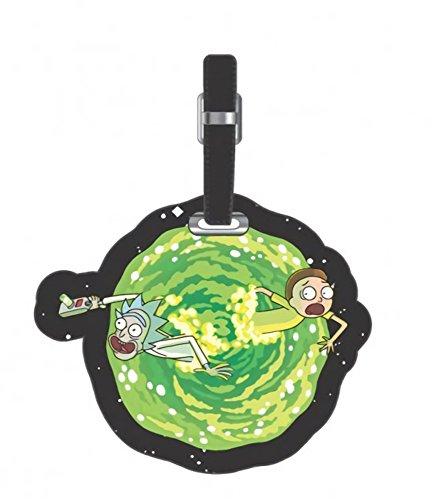 Rick and Morty PU Portal Luggage Tag