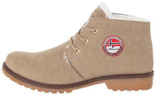 Nebulus Zapatos de cordones Amundsen Beige EU 44