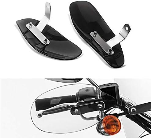 Paramani per Harley Softail Slim//Sport Glide//Springer//Standard Tourtecs HP Protezione manubrio fum/è scuro