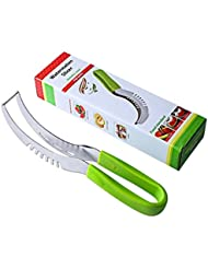 Premium Stainless Steel Watermelon slicer - Top Rated Watermelon Cutter By American Posh Dealer