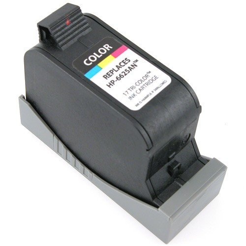 eForCity Premium For HP 17 Remanufactured Color Ink Cartridge - C6625AN Compatible with: For HP models DeskJet 825C / 840C / 841C / 842C / 843C / 845 / 845C