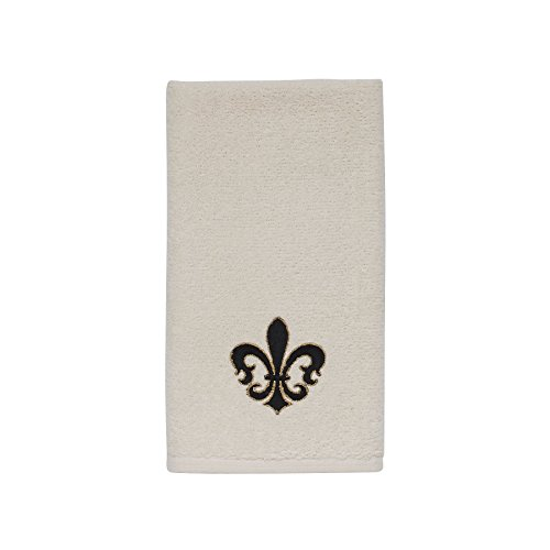 Avanti Linens Luxembourg Fingertip Towel, Ivory ()