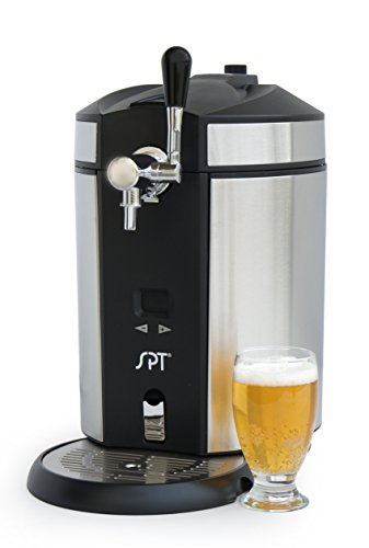 SPT BD-0538 Mini Kegerator & Dispenser, Stainless Steel