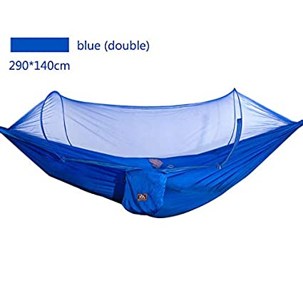 Amazon Com Rnalley Camping Hammock With Mosquito Net Steel