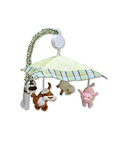 (Trend Lab Musical Mobile - Baby Barnyard )
