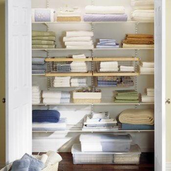 The Container Store Linen Closet