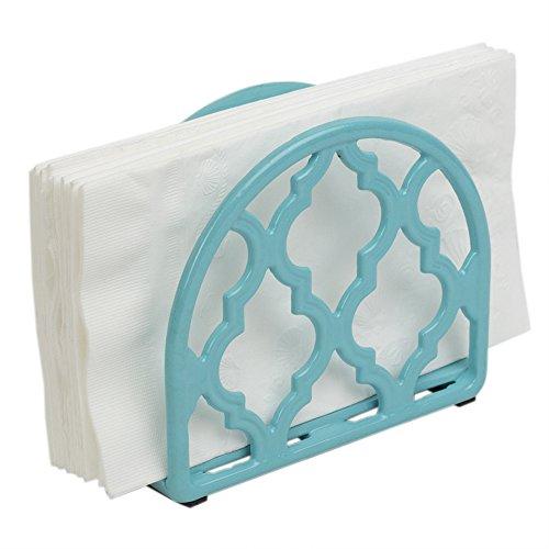 Home Basics Lattice Collection Cast Iron Napkin Holder