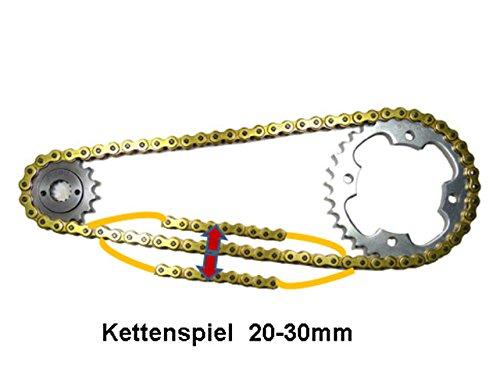 Kettensatz Shineray 250 STIXE//ST-9E 16//34 Kette Gold verst/ärkt