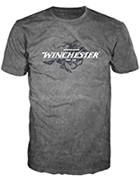 Official Winchester Mens Limited Edition Legend Rider Graphic Short Sleeve T-Shirt