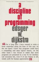 A Discipline of Programming Front Cover
