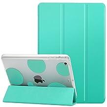 Dailylux iPad mini Case,ipad mini 2 Case,ipad mini 3 Case, Smart Folio Stand Cover Ultra Slim Light Shockproof TPU + Hard PC romantic bubble w/ Auto Sleep/Wake Function for ipad mini 1/2/3-Mint green