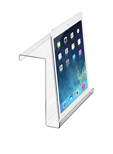 AdirSports Acrylic Universal Treadmill Bookholder – iPad & Tablet – Magazine Rack (9 x 11 x 3.5)