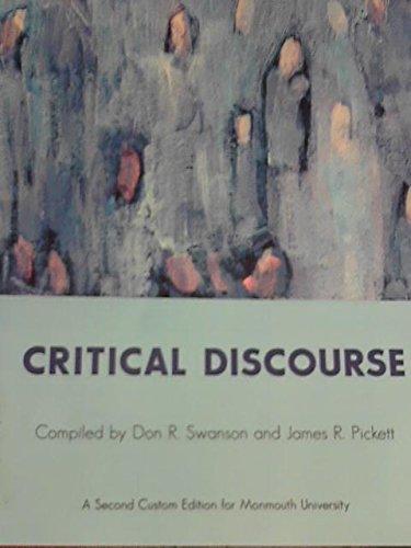Critical Discourse