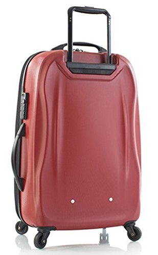Heys - Crown SuperLite Rot Trolley mit 4 Rollen Klein