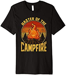 [Featured] Master of the Campfire Camping Vintage Camping Retro Premium in ALL styles | Size S - 5XL
