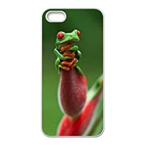 Cool Painting Frog Original New Print DIY Phone Case for Iphone 5,5S,personalized case cover case531228