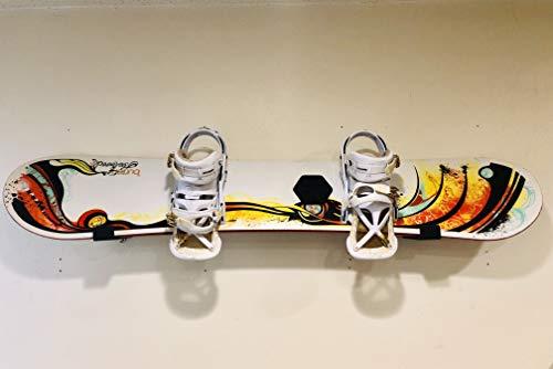 Booster Snowboard Skateboard Surfboard Wall Rack & Display Wall Rack Hanger ()