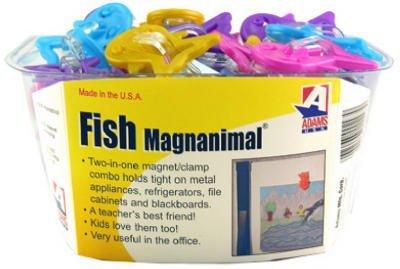 UPC 037063002979, Adams #1310-53-3848 Fish Magnet Clip Assorted
