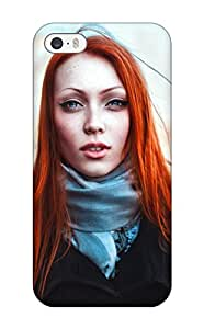 Awesome Design Gorgeous Redhead Natali Women Redheads People Women Hard Case Cover For Iphone 5/5s