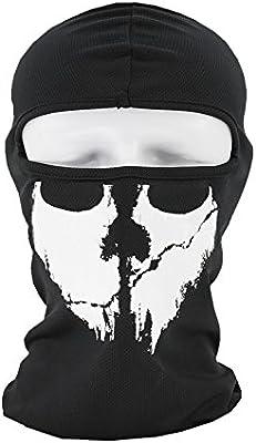 Excursion Sports Máscara Facial con diseño de Calavera 3D Creativa ...