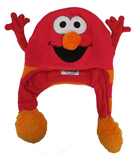 (123 Sesame Street Elmo Boys Flipeez Hat)