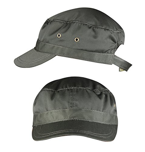 [FZL Unisex Army Green Flat Top Hat Adult Adjustable Hat Visor Army Green 2-Pack] (Pork Pie Hat For Sale)