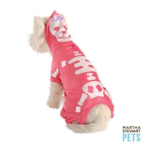 Martha Stewart Pets Glitter Skeleton Dog Costume Medium