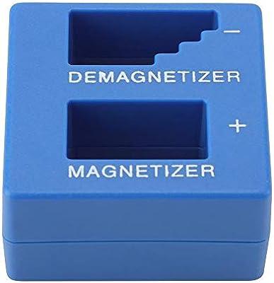 2 En 1 Magnetizador desmagnetizador Herramienta Magnética para Destornilladores Puntas de Tornillo Pequeño Hardware Magnetizador Puntas de Tornillo Azul Herramienta Magnética Herramientas: Amazon.es: Hogar