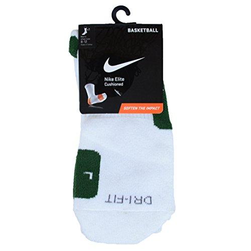 Nike - Polo de manga corta para hombre White/Gorge Green/Gorge Green