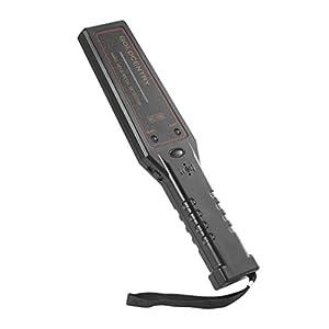 Hand Held Metal Detectors, OUTAD Portable Hand Held Metal Detector Super Scanner Tool(Black)