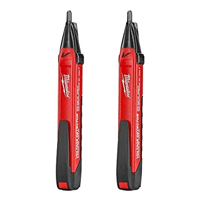 Milwaukee 2202-20A Voltage Detector with LED 2-Pack