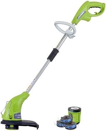 Amazon.com: GreenWorks 21212 - Cortadora de cuerdas con ...