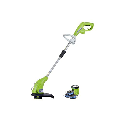 GreenWorks 4Amp 13-Inch Corded String Trimmer with Trimmer Line 21212 Renewed
