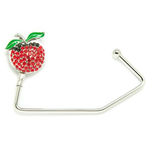 Red Crystal Apple Classic Purse Hook