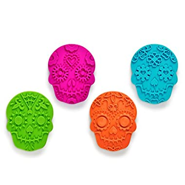 Fred & Friends SWEET SPIRITS Day of the Dead Cookie Cutter/Stampers, Set of 4